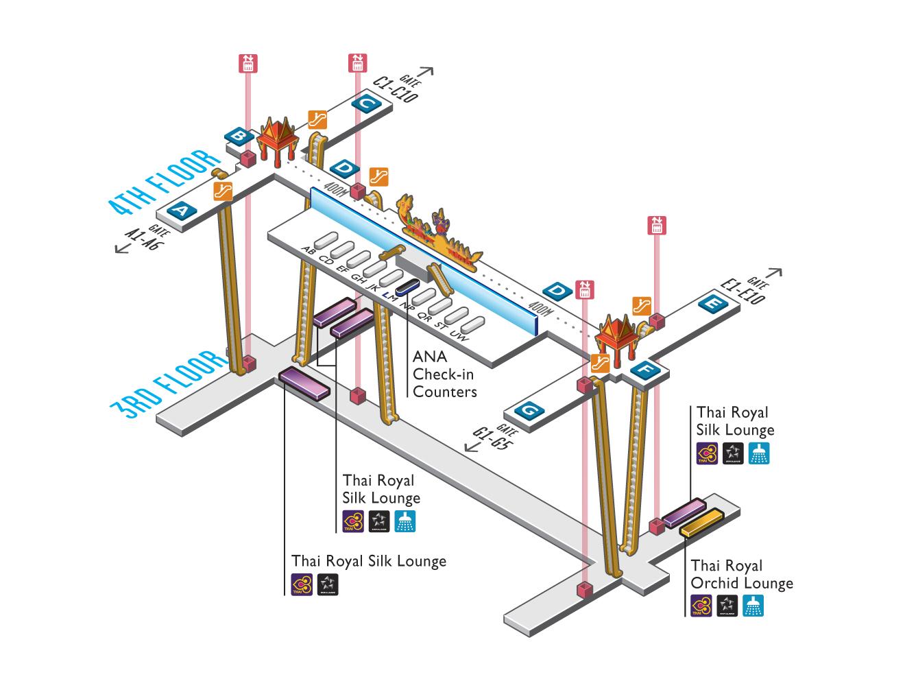 Lounge map